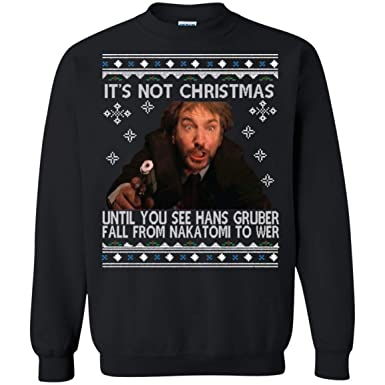 Amazoncom Die Hard Its Not Christmas Unil Hans Gruber Falls From