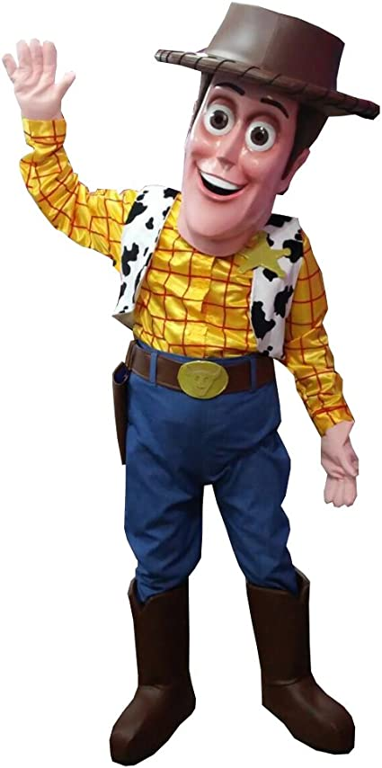 Amazon Com Kf Woody Toy Story Mascot Costume Adult Quality Party