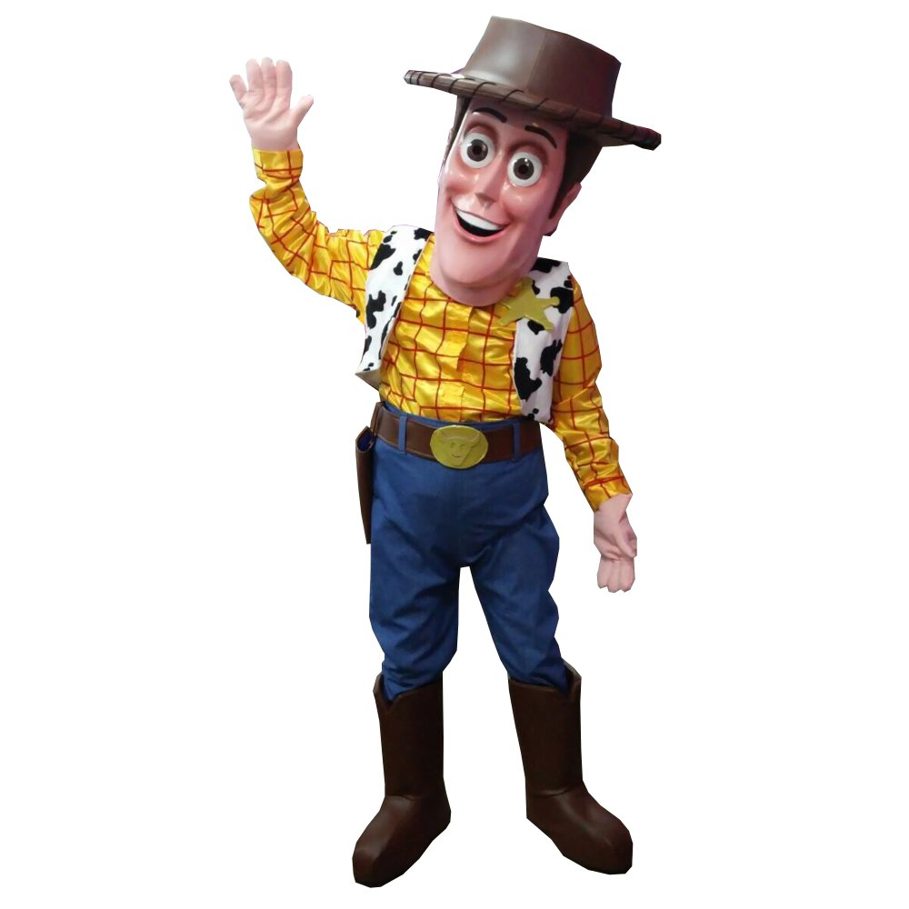 4b307c952 Amazon.com: WOODY TOY STORY MASCOT COSTUME ADULT QUALITY PARTY HALLOWEEN  COWBOY COSPLAY SUIT: Toys & Games