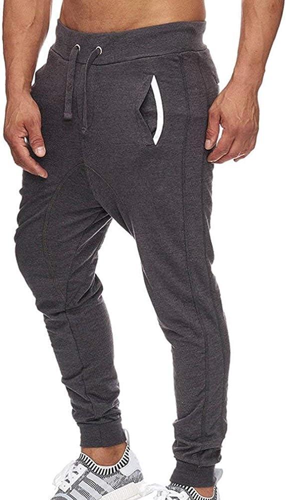 Pantalones De Jogging Pantalones Deporte Moda De Holgada De para ...