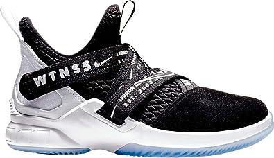 ab32e78076d Nike Lebron Soldier XII (gs) Big Kids Aa1352-005 Size 3.5 Black