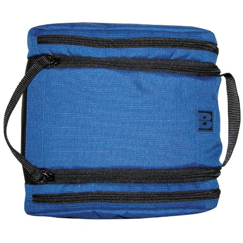 buxton-double-zip-top-travel-kit-cosmetic-bag-blue-one-size