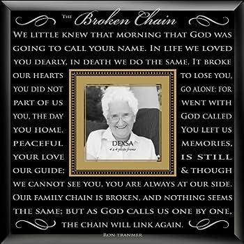 Broken Chain Photo Frame
