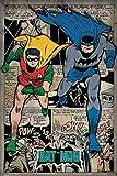 DC Comics Batman Montage Maxi Poster, Multi-Colour