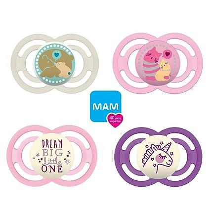 Mam Day & Night Chupete +6 //Juego De 4//Incluye 4 cajas ...
