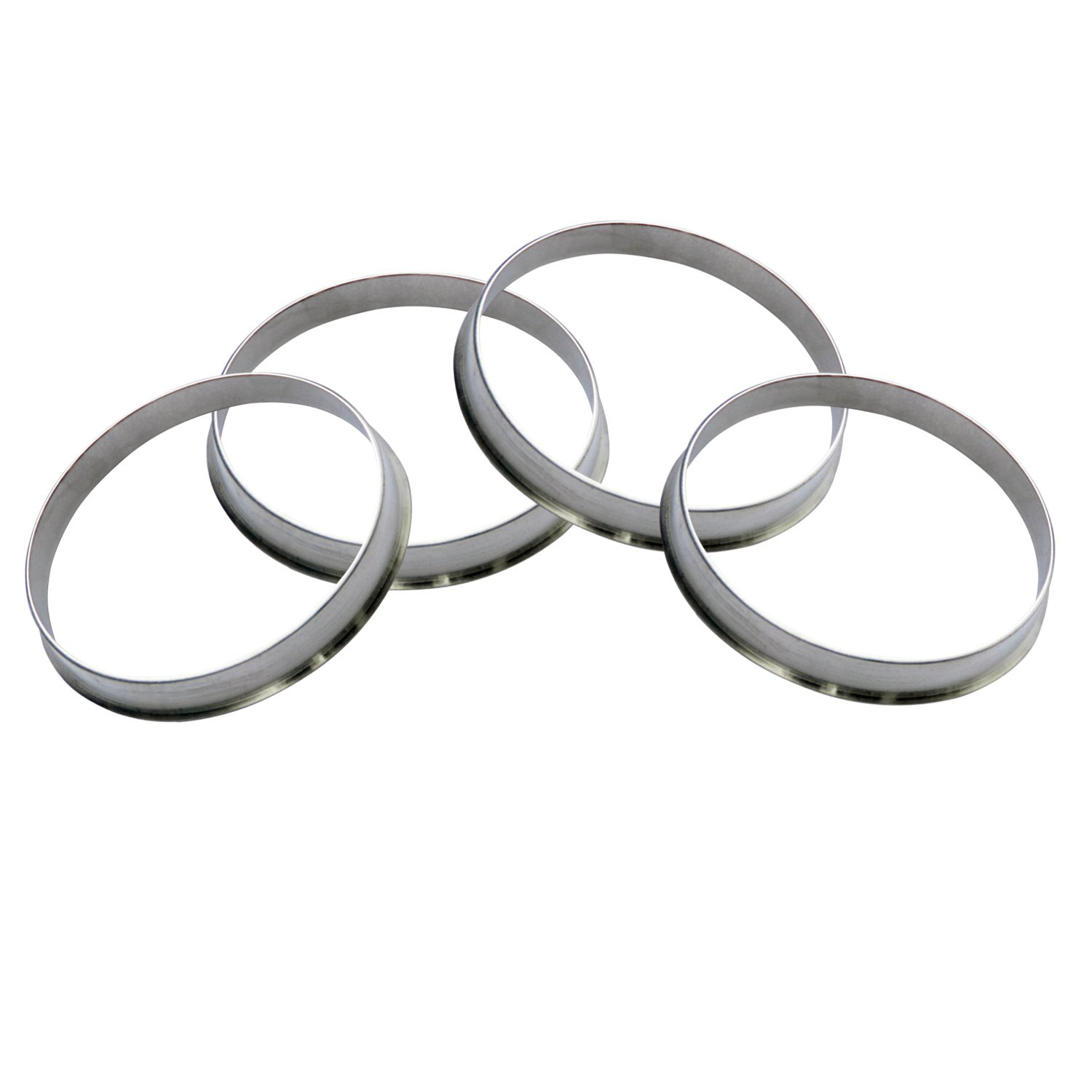 GDSMOTU 4pc Alloy Aluminum 108mm OD to 106mm ID Hub Centric Rings - Performance Hubrings for 106mm Vehicle Hubs with 108mm Wheels Center Bore