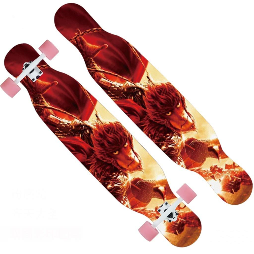 1着でも送料無料 DUWEN スケートボードプロのメープルスケートボードティーン大人の男性と女性ダンスボードブラシストリート旅行初心者スクーター C B) (色 : B) B07NRJK2Q5 C C C, WUTTY & Co.:286f5d49 --- a0267596.xsph.ru