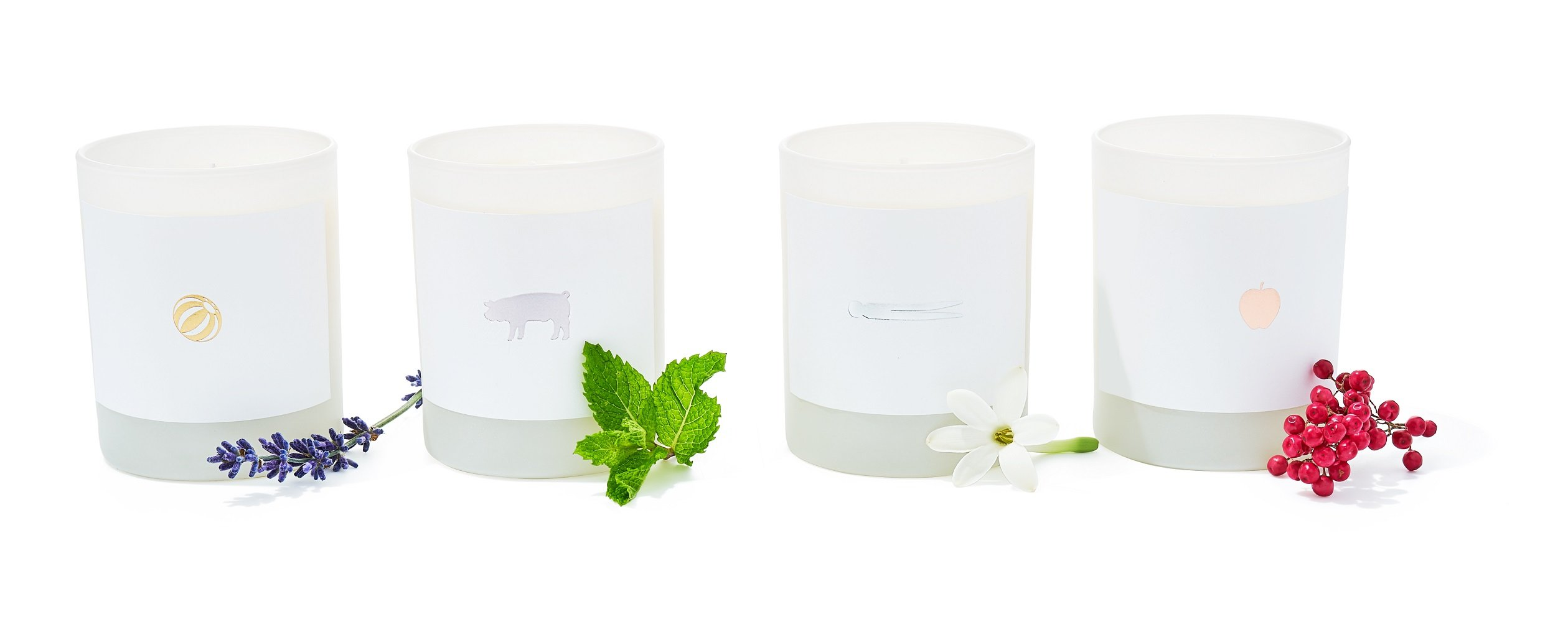 Finesse, The Store Scented Candles by Joya (Set of 4 Contains The French Laundry,Ad Hoc,Per Se and Bouchon Scented Candles) by Finesse, The Store