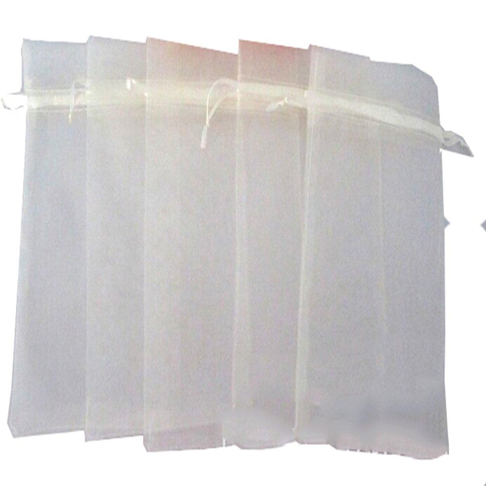 LYEP 100pcs Rose 7*9cm 0rganza Pochette//sacs//Sachets en Organza pour Mariage//Bijoux//Cadeaux Multicouleurs
