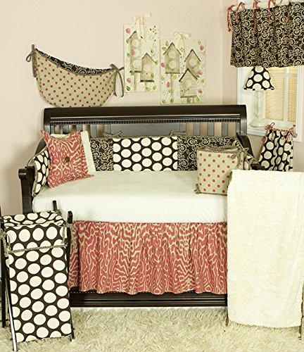 Raspberry Dot (Cotton Tale Designs Big Dots 10 PC Crib Bedding Set, Raspberry Dot)