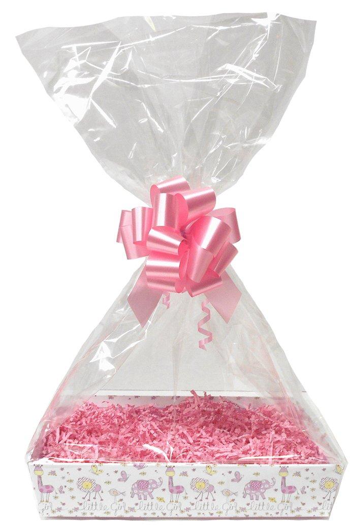 Amazon.de: Baby Pink DIY-Geschenk Korb-Kit - Little Girl Karton ...