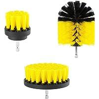 3st Borra Brush 360 Bilagor Kit Tile power Cleaner skurborstar för badrum Dusch Kitchen