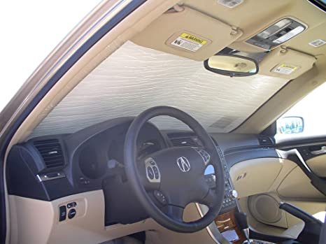 Amazoncom HeatShield The Original Auto Sunshade Acura TL Sedan - Acura tl sunshade