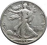 1934 WALKING LIBERTY Half Dollar Bald Aquila United States AR Coin i44640