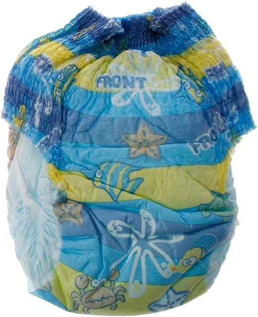 JOYKK Baby Nappies Pañales de natación Pañales Ajustables Impermeables Pantalón para Piscina Pañal para Nadar Cubierta Reutilizable 2-3 Veces Lavable - Niño - M: Amazon.es: Hogar
