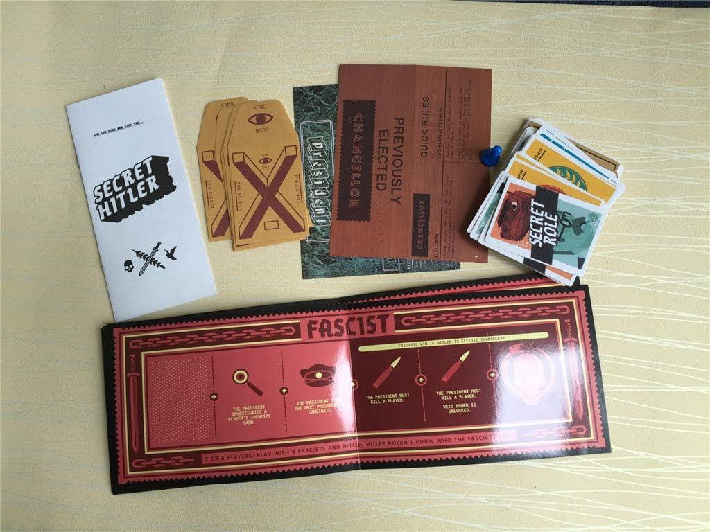 ZYCZ Secret Hitler Tarjeta Anti-Humano Revela Hitler Puzzle Tarjeta de Juego,YellowboxHitler: Amazon.es: Deportes y aire libre