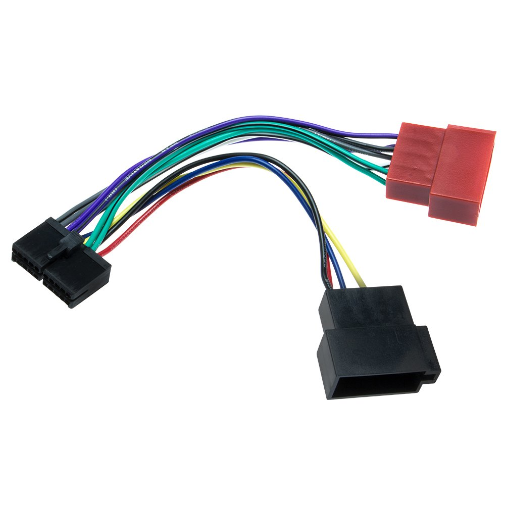 Adapter-Universe Cable adaptador de radio de coche 16 pines DIN ISO Conector De 20 Pines a enchufe para ForYou cm 206/700/730 1040-4