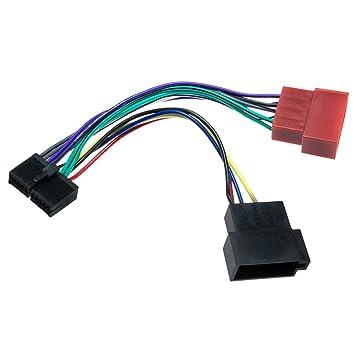 Adapter-Universe Auto Radio Adapter Kabel 16 PIN DIN: Amazon.de ...