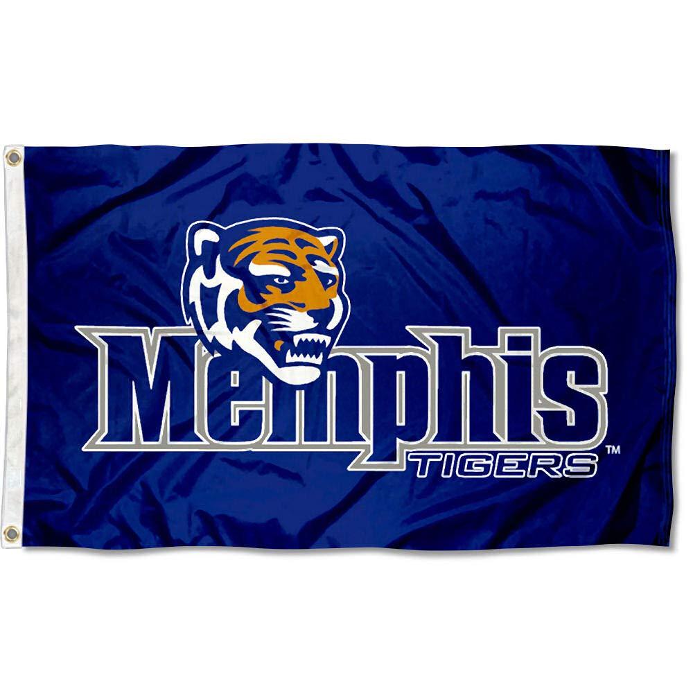 Memphis Tigers University Large College Flag