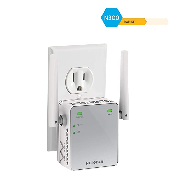 Netgear N300 Wifi Range Extender Essentials Edition Ex2700