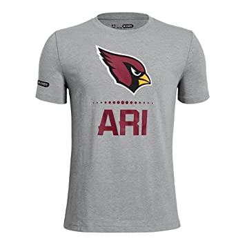 Under Armour NFL Combine Authentic Lockup YLG NFL Arizona Cardinals Steel  Heather 4a9494b7a