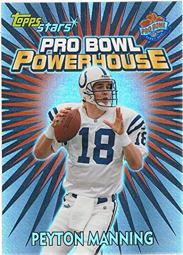 2000 Topps Stars Pro Bowl Powerhouse #PB14 Peyton Manning 2000 Topps Collection