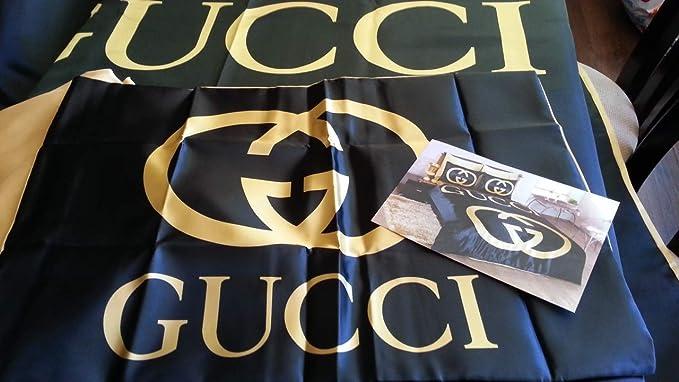 Parure De Lit De Luxe Gucci Avec Drap Et 2 Taies D Oreiller En Coton Pour Grand Lit Double Amazon Fr Cuisine Maison