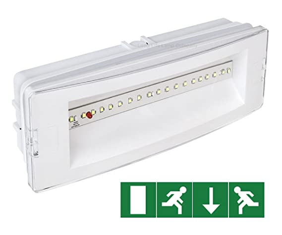 3w LED Emergency Light Non-Maintained/Maintained 180 Minutes
