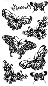 Body temporary tattoos - Black