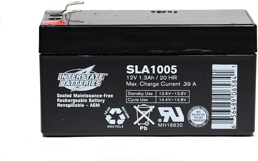 Interstate SLA1005 12V 1.3AH SLA