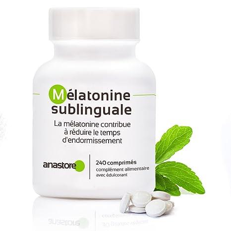 MELATONINA SUBLINGUAL OFERTA 3+1 GRATIS | Pureza garantizada superior al 99% | 1.8 mg / 480 dosis | Estevia (Aroma limón)| Regulador del reloj interno ...