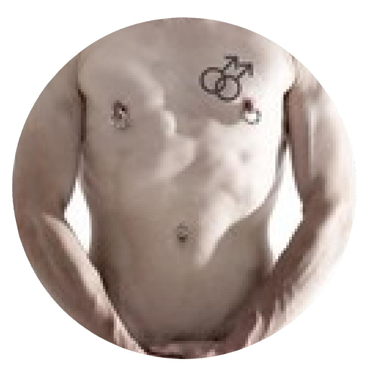 alfombrilla de ratón Gay con el tatuaje gaysymbol: Amazon.es ...
