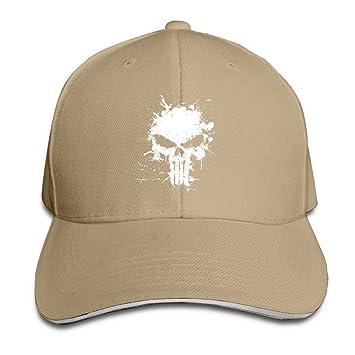Yhsuk Punisher Sandwich Peaked Hat//Cap Black
