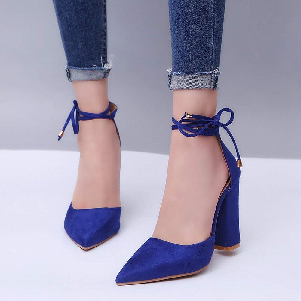 Oudan Mode und Größe Grobe Fersen mit mit mit Riemen Sandalen Schuhe (Farbe   Grau Größe   EU 40) 12f9b0
