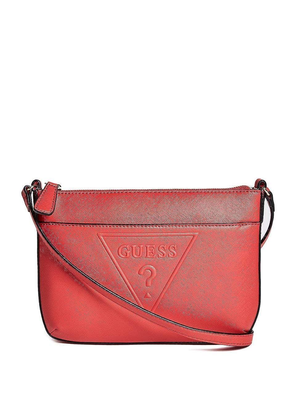 GUESS Factory Womens Rigden Logo Crossbody