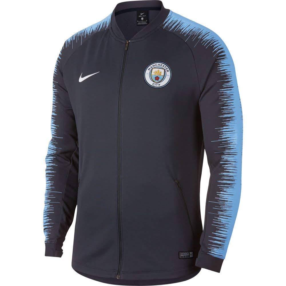 Nike Herren Manchester City Fc Anthem Trainingsjacke