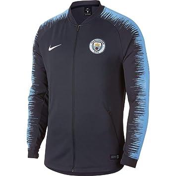 Nike Manchester City FC Anthem Chaqueta de Entrenamiento, Hombre: Amazon.es: Deportes y aire libre