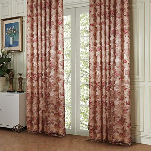 twopages-country-bloom-peony-print-floral-grommet-top-energy-saving-curtain-drapes-with-lining-100wx