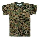 Woodland Digital Camo T-shirt, XL
