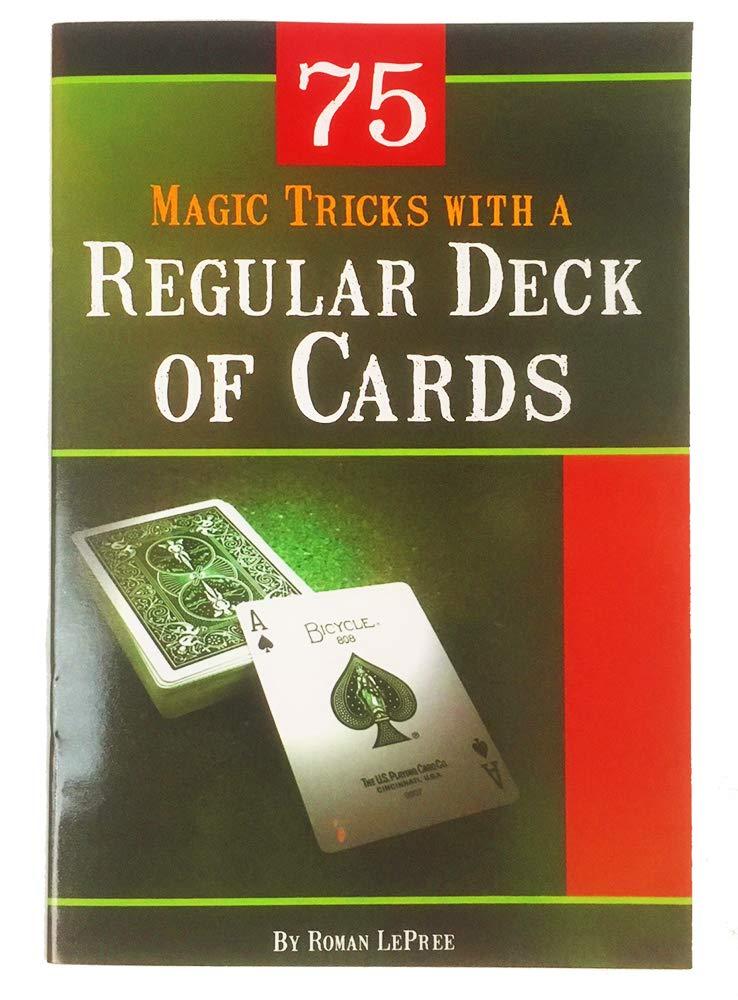 Color Vision Trick Computer Age Cards Trick X-Ray Vision Trick Plus 75 Tricks with a Regular Deck of Cards Jeffini Magic Jeffinis Magic /& Mentalism Kit