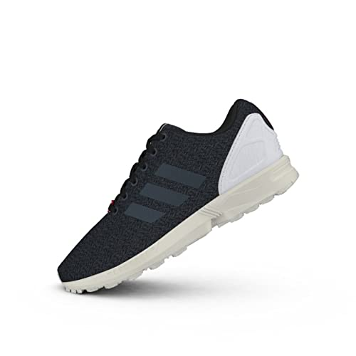 Details zu adidas ORIGINALS ZX FLUX TRAINERS BLACK SNEAKERS SHOES MEN'S TORSION 3 STRIPES