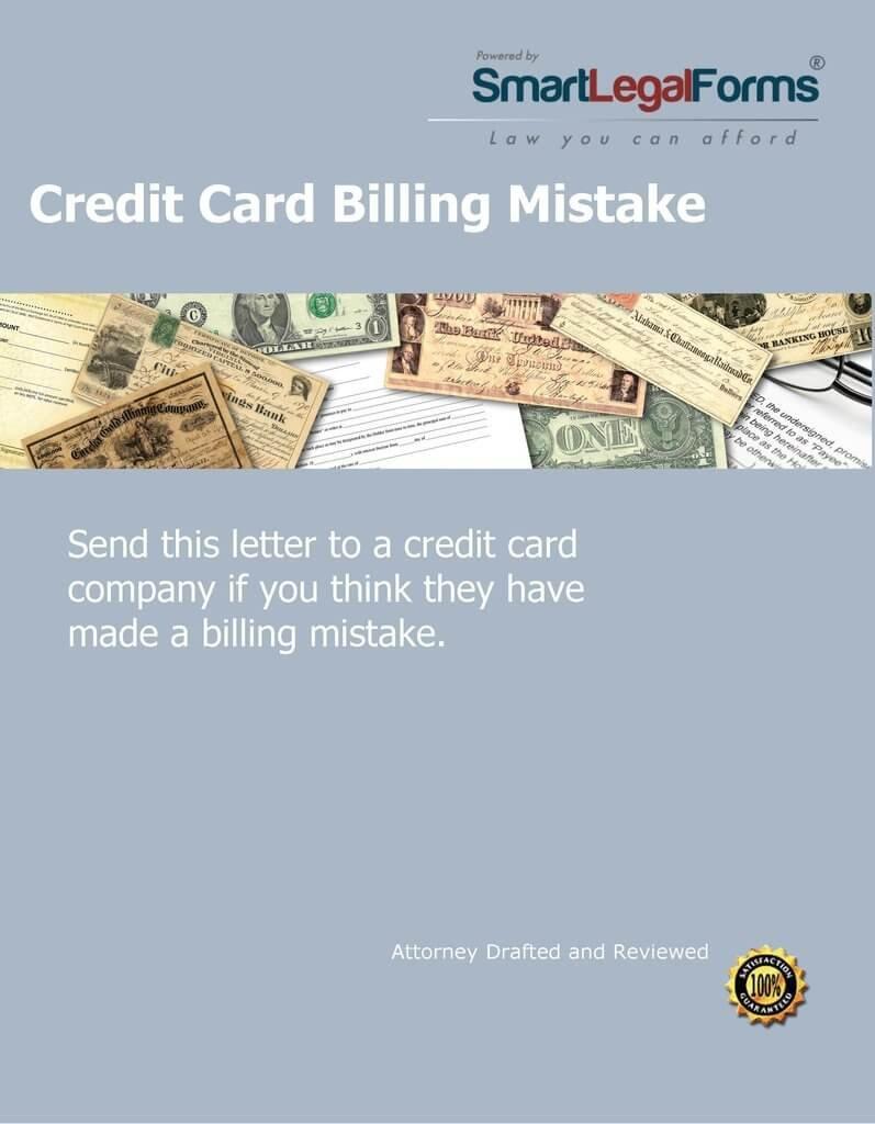 Amazon com: Complaint Letter - Credit Card Billing Mistake