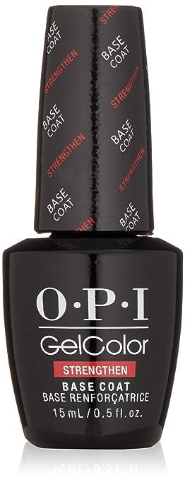 Amazon Com Opi Gel Color Strengthen Base Coat Luxury Beauty