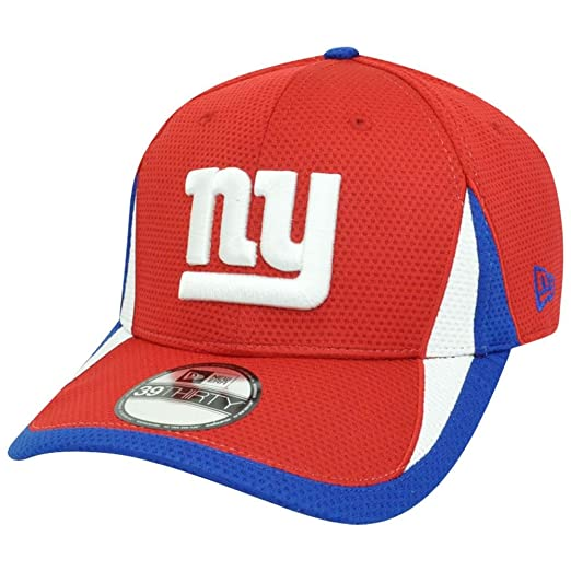 new arrival f35c8 a0e07 Amazon.com   NFL New York Giants Reverse Team Color Training 39THIRTY Cap,  Small   Sports Fan Novelty Headwear   Clothing