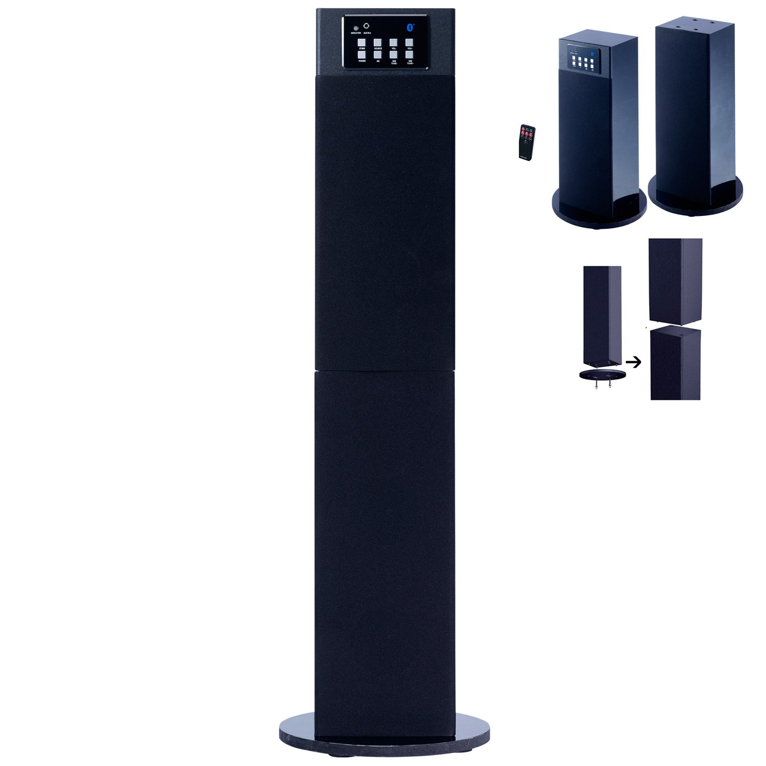 home theater tower speakers. amazon.com: craig electronics cht914c stereo home theater/tower speaker system with bluetooth wireless technology: audio \u0026 theater tower speakers a