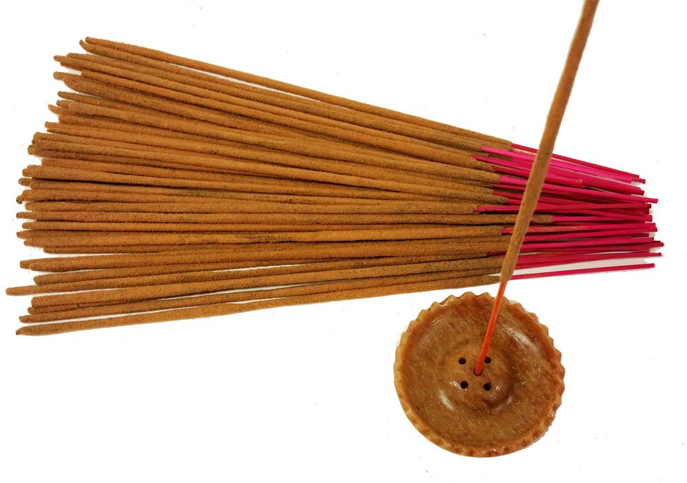 Nag Champa Gold Incense- Bulk 500 Sticks Pack with Free Holder by Nag Champa Spa (Image #3)