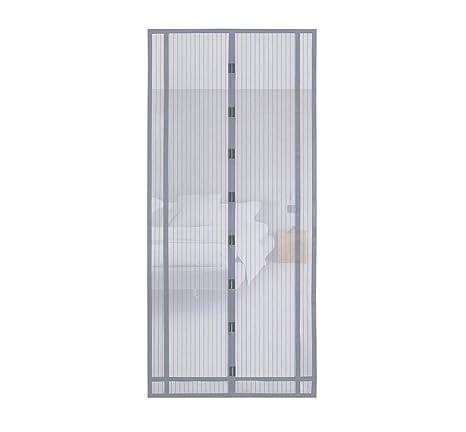 Eisen 220 x 80cm, Schwarz Sekey Magnet Fliegengitter T/ür Vorhang f/ür Holz Aluminium T/üren und Balkon Einfache Installation