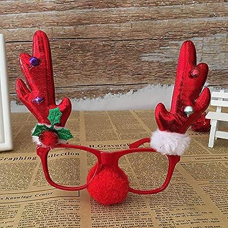 La Navidad de monturas de Gafas, Novedad Antler Renos Lindos ...