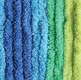 Bernat Blanket BrightsYarn - (6) Super Bulky Gauge  - 10.5 oz - Surf Variegate  -  Machine Wash & Dry