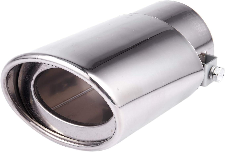 CUHAWUDBA Tubo di Coda del Silenziatore di Scarico Posteriore nel Acciaio Inossidabile per Auto per Mercedes Classe C W203 C240 ??C320